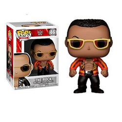 WWE Funko Pop! The Rock (Orange Jacket)