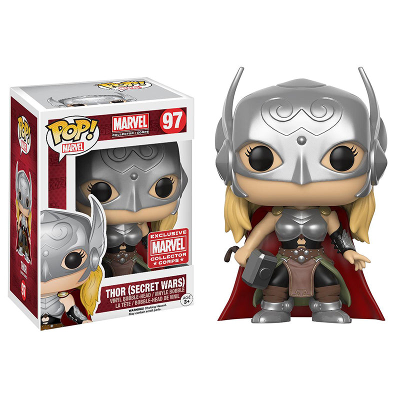 Marvel Funko Pop Thor Secret Wars 97 Big Apple