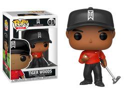 Golf Funko Pop! Tiger Woods (Red Shirt) #01