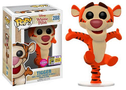 Winnie the Pooh Funko Pop! Tigger (Flocked) (Convention Sticker) #288