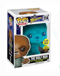 Universal Monsters Funko Pop! The Wolf Man (GITD) (Toy Tokyo) #114