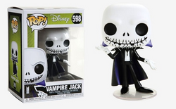 Nightmare Before Christmas Funko Pop! Vampire Jack #598