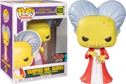 The Simpsons Funko Pop! Vampire Mr. Burns (Shared Sticker) #825
