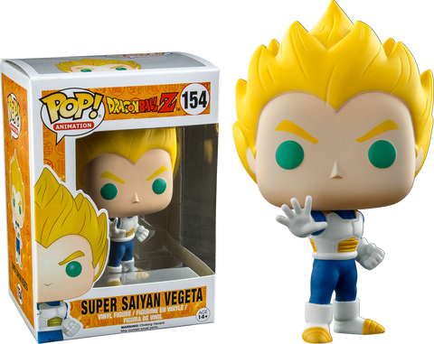 Dragon Ball Z Funko Pop! Super Saiyan Vegeta