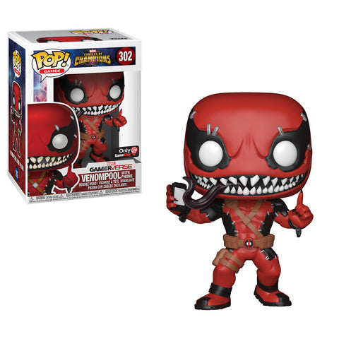 Contest of Champions Funko Pop! Venompool with Phone