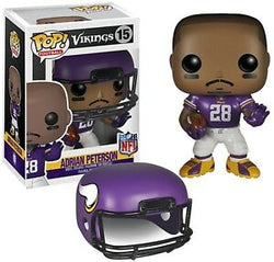 Vikings Funko Pop! Adrian Peterson (Removable Helmet) #15