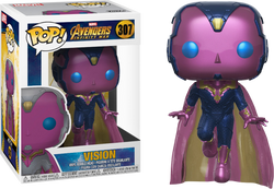 Avengers Infinity War Funko Pop! Vision (Action Pose) #307