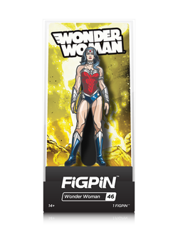 DC Justice League FiGPiN Wonder Woman Collector Case #46