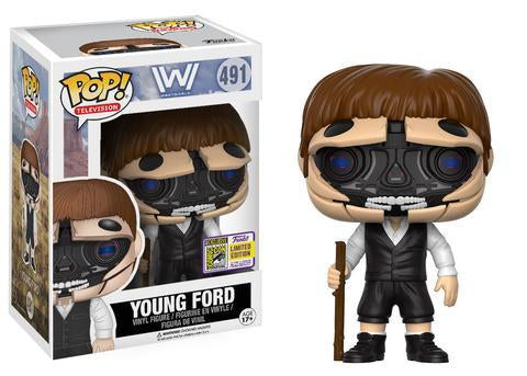 Westworld Funko Pop! Young Ford (Convention Sticker)