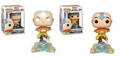 Avatar: The Last Airbender Funko Pop! Aang on Airscooter CHASE & Common (Pre-Order)