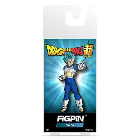 Dragon Ball Super FiGPiN Mini Super Saiyan God Super Saiyan Vegeta #M2 (Pre-Order)