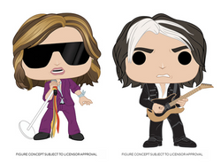 Aerosmith Funko Pop! Complete Set of 2 (Pre-Order)