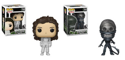 Alien Funko Pop! Complete Set of 2 (Pre-Order)