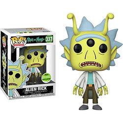 Rick and Morty Funko Pop! Alien Rick (Shared Sticker) #337