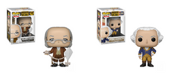 American History Funko Pop! Complete Set of 2 (Pre-Order)