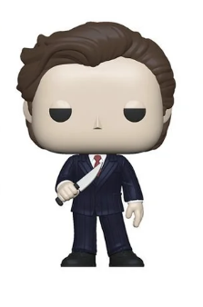 American Psycho Funko Pop! Patrick Bateman (No Raincoat) (with Knife) (Pre-Order)