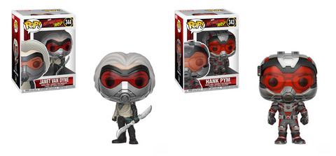 Ant-Man and the Wasp Funko Pop! Complete Set of 2 Wave 2 (Pre-Order)