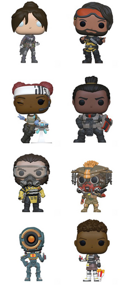 Apex Legends Funko Pop! Complete Set of 8 (Pre-Order)