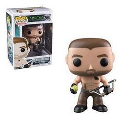 Arrow Funko Pop! Oliver Queen (Island Scarred)