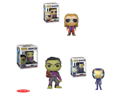 Avengers Endgame Funko Pop! Series 2 Complete Set of 3 (Pre-Order)