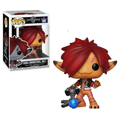 Kingdom Hearts 3 Funko Pop! Sora (Monsters Inc) (Orange) #485 (Pre-Order)