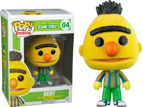 Sesame Street Funko Pop! Bert (Flocked)