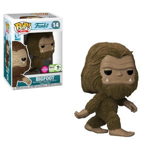 Funko Mascot Funko Pop! Bigfoot (Brown) (Convention Sticker) #14