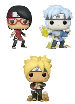 Boruto: Naruto Next Generations Funko Pop! Complete Set of 3 (Pre-Order)