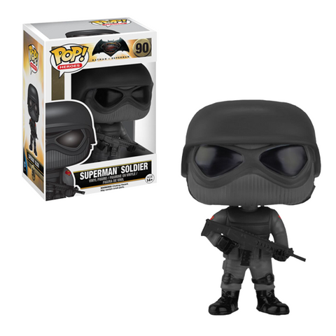 Batman Vs. Superman Funko Pop! Superman Soldier #90
