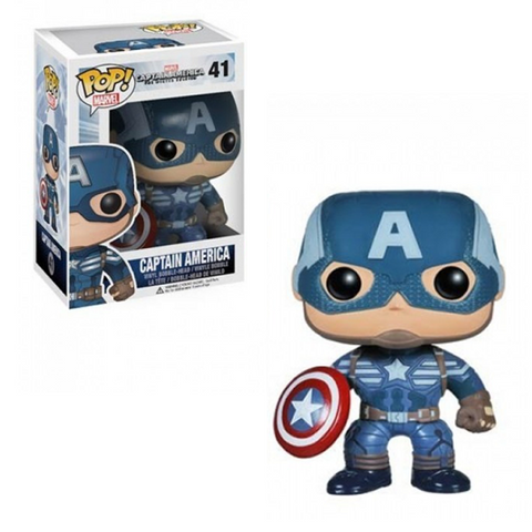 Captain America: The Winter Soldier Funko Pop! Captain America