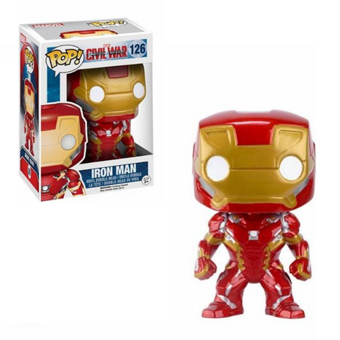 Captain America: Civil War Funko Pop! Iron Man