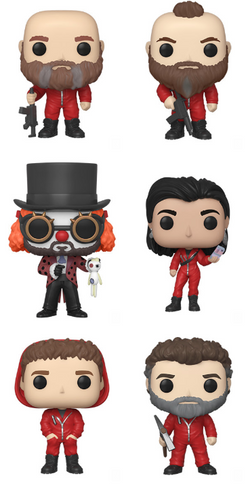 La Casa De Papel Funko Pop! Complete Set of 6 Series 2 (Pre-Order)