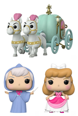 Cinderella Funko Pop! Complete Set of 3 (Pre-Order)