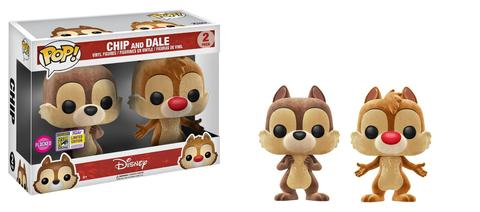 Disney Funko Pop! Chip and Dale (Convention Sticker) (2-Pack)
