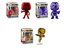 Avengers Infinity War Funko Pop! Complete Set of 3 Chrome
