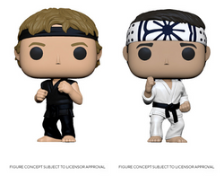 Cobra Kai Funko Pop! Complete Set of 2 (Pre-Order)