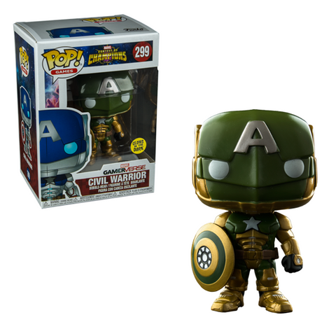 Contest of Champions Funko Pop! Civil Warrior (GITD)