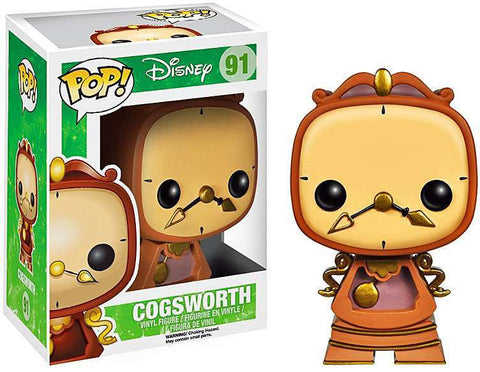 Beauty and the Beast Funko Pop! Cogsworth #91