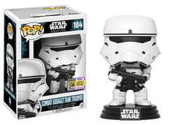 Star Wars: Rogue One Funko Pop! Combat Assault Tank Trooper (Convention Sticker) #184