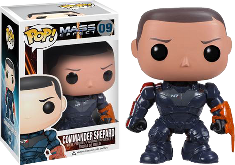 Mass Effect Funko Pop! Commander Shepard
