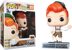 Conan Without Borders Funko Pop! Conan O'Brien (Lenderhosen Outfit) #21 (Pre-Order)