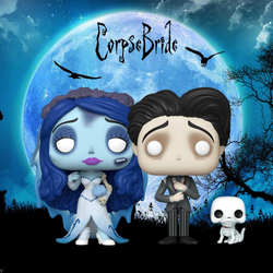 Corpse Bride Funko Pop! Complete Set of 2 (Pre-Order)