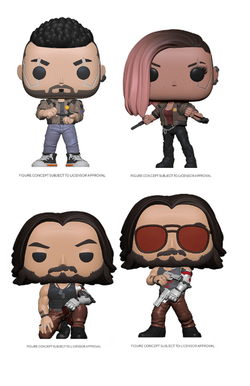 Cyberpunk 2077 Funko Pop! Complete Set of 4 (Pre-Order)