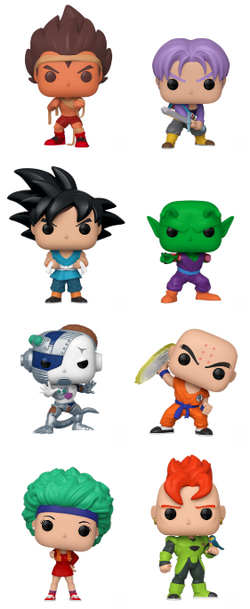 Dragon Ball Z Funko Pop! Complete Set of 8 (Pre-Order)