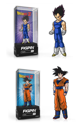 Dragon Ball Z FiGPiN Complete Set of 2 (Goku & Vegeta) (Pre-Order)