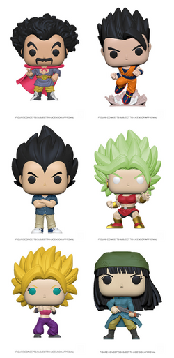 Dragon Ball Super Funko Pop! Complete Set of 6 NYTF 2020 (Pre-Order)