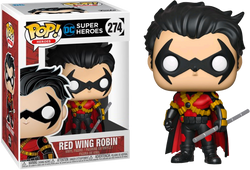 DC Super Heroes Funko Pop! Red Wing Robin #274 (Pre-Order)