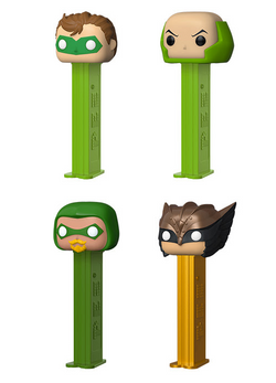 DC Comics Funko Pop! Pez Complete Set of 4 (Pre-Order)
