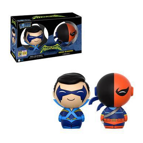 DC Super Heroes Funko DORBZ Nightwing & Deathstroke (Convention Sticker)
