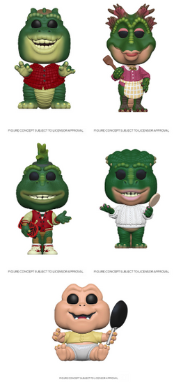 Dinosaurs Funko Pop! Complete Set of 5 (Pre-Order)